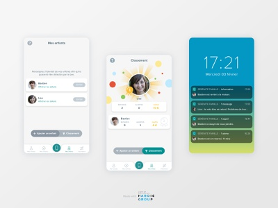 Serenity home app for Crédit Agricole 2/2 mobile ux mobile ui product design ui ux mobile design mobile app