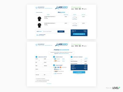 Lardesports - e-commerce website 3/3 cart magento webdesign checkout page ecommerce design