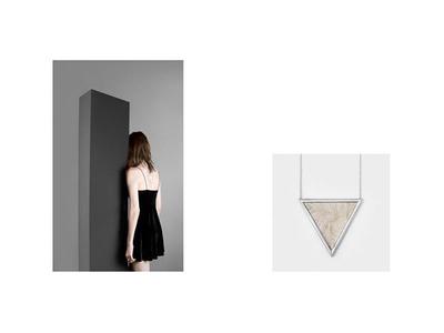 Nivo Jewelry Look book web design identity branding uiux monolith jewelry art direction minimal photography look book fashion