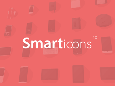 Smarticons pack rosek flat icon pack
