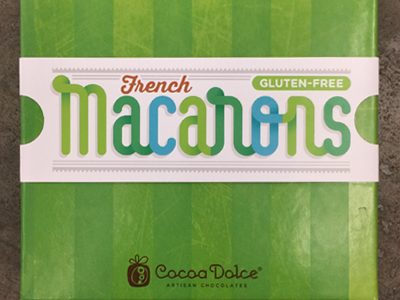 Macarons final label