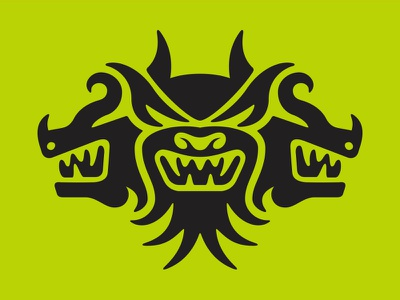 Cerberus_v1 head dog
