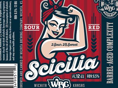 WBC seasonal can craft beer barrel wichita red beer