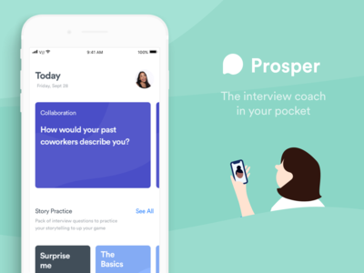 Train for interviews - with Prosper