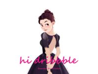 Hi dribbble~