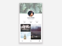 User Profile - Daily UI 006