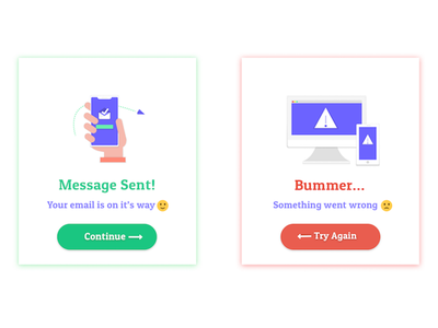 Flash Messages - Daily UI 011 day 11 daily ui flash messages