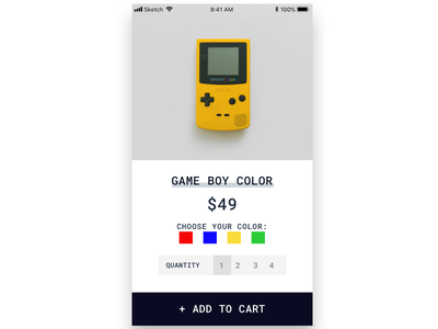 Single Product (Mobile) - Daily UI 012 mobile day 12 single product daily ui