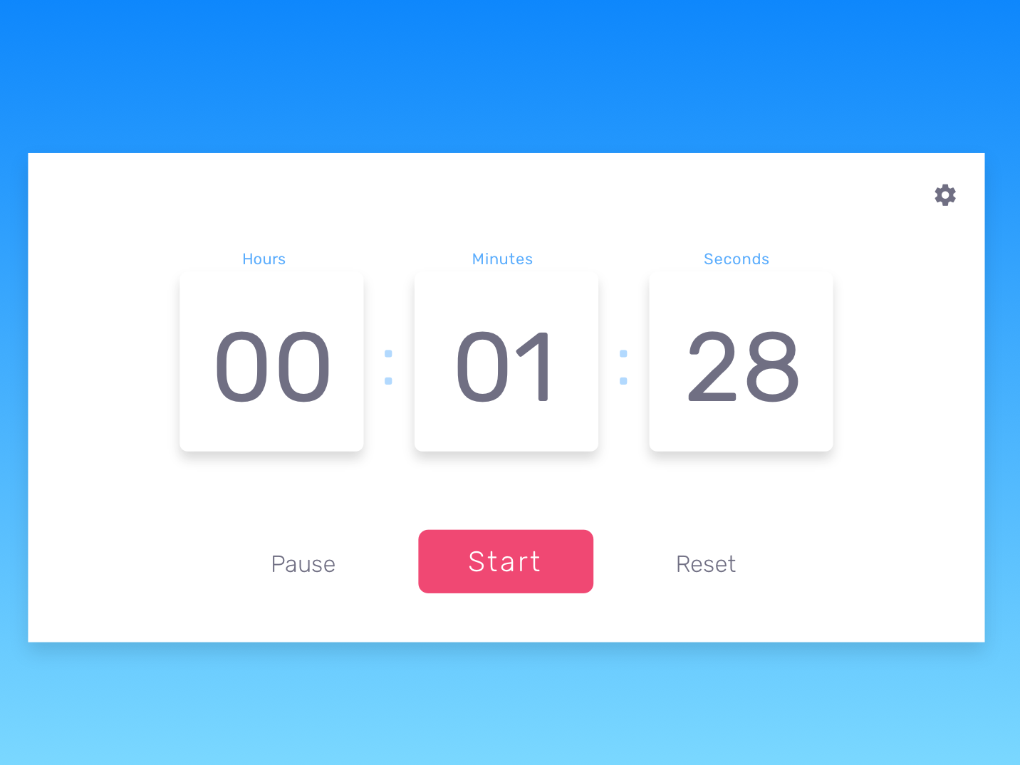 Countdown Timer - Daily UI 014 counter countdown timer time daily ui