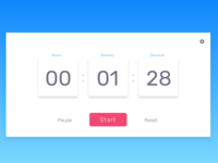 Countdown Timer - Daily UI 014