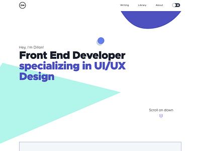 Portfolio Redesign design portfolio uidesign
