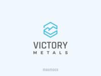 Victory Metals logo