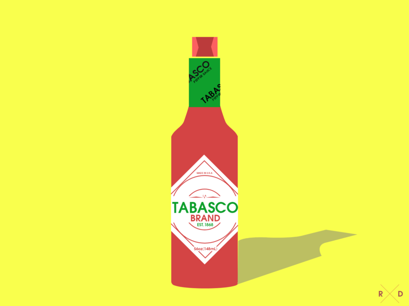 Tabasco - Illustration branding illustrator graphics photoshop adobe xd