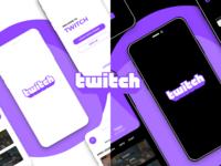 Twitch - Case Study casestudy uidesign ui uiux figmadesign figma