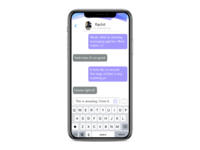 Day-13:Messaging App UI