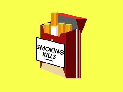 Smoking Kills adobe xd adobe photoshop graphics smoking vector