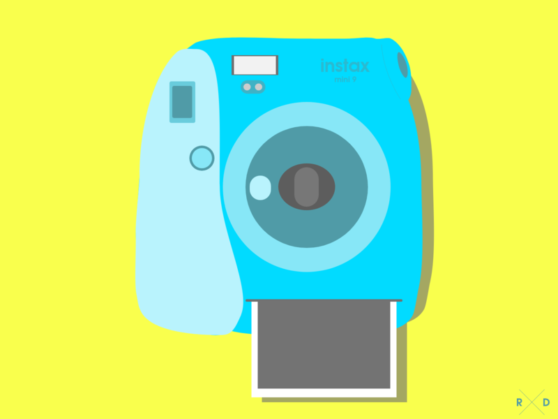 Polaroid - Vector polaroid design illustration graphics adobe xd vector