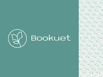 Bookuet - 1 simple design boquet book thrifter graphic design dusandidesign logo logomark book brand identity branding brand designer