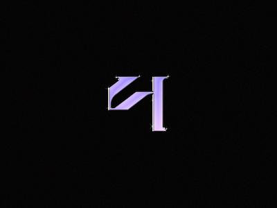 4 - 36 Days of Type graphic design number 36daysoftype 3d typeart alphabet typography typedesign typetopia lettermark typography brand designer type vector dusandidesign grafik typemade