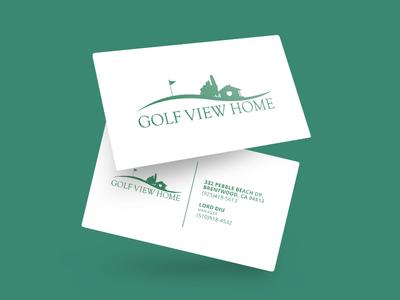 Golf View Business Card
