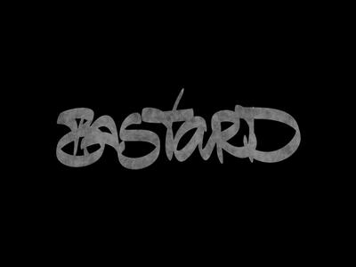 Cć / Bastard ipadpro behance bēhance graphic design logotype logo branding types project typography design lettering calligraphy