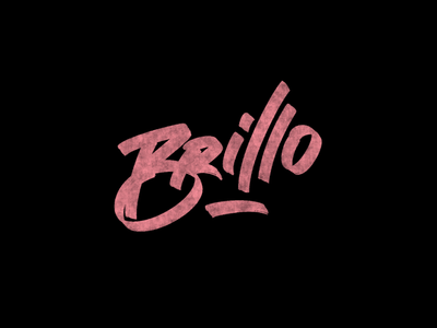 Cć / Brillo behance bēhance project graphic design logotype logo graphic branding types typography design lettering calligraphy