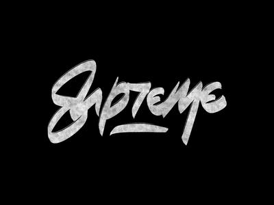 Cć / Supreme supreme behance procreate project bēhance graphic design logotype logo branding types typography design lettering calligraphy