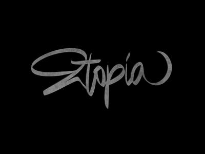 Cć / Utopia behance procreate project bēhance branding types typography design lettering calligraphy