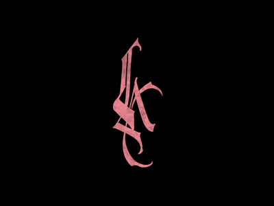 Cć / LA handlettering procreate behance graphic design logotype logo graphic branding types typography design lettering calligraphy