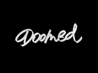 Cć / Doomed handlettering ipadpro procreate behance graphic design logotype logo branding types typography design lettering calligraphy
