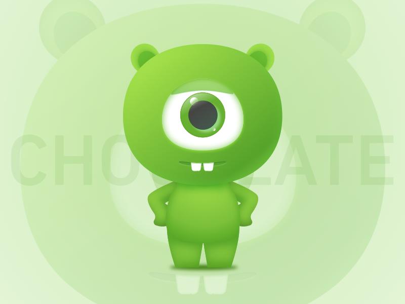 Chocolate illustration icon design