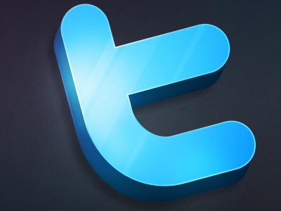 Twitter Icon + free download twitter icon download shiny reflection