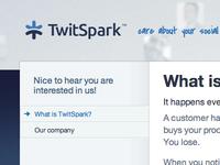New TwitSpark Logo