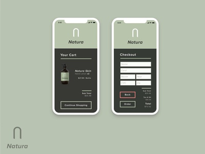 Natura | Cart & Checkout