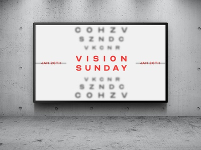 Vision Sunday - Announcement