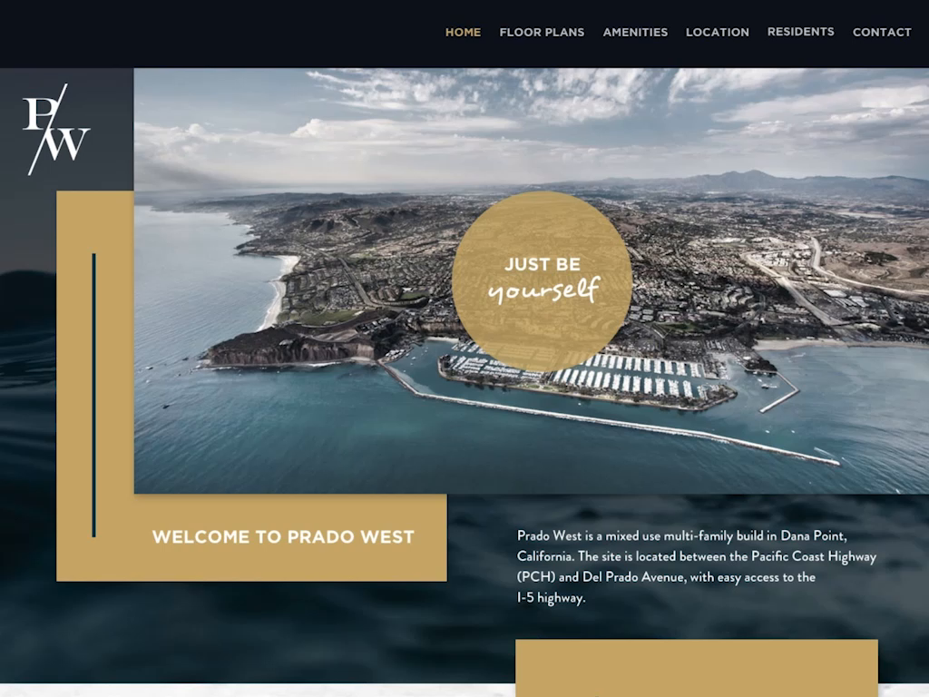 Single Page - Luxury Apartment Site by Austin Thesing | Dribbble