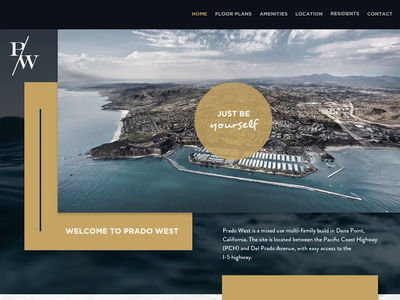Single Page - Luxury Apartment Site one page design one page site single page landing page housing apartment single page website website vector typography design web design