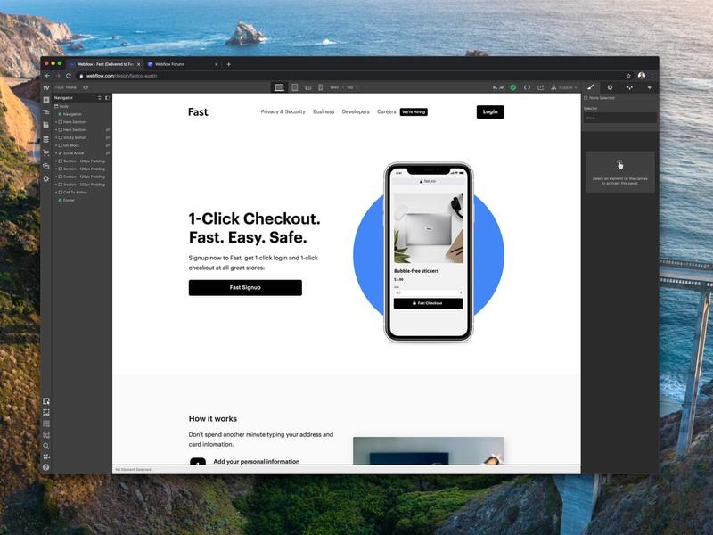Fast.co - Built In Webflow