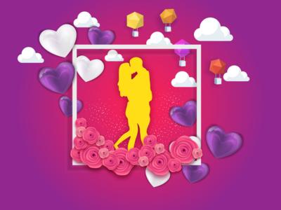 Valentine Card Design