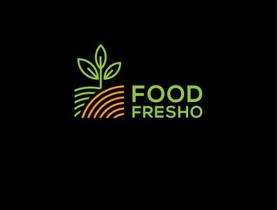 Fresh food logo design Idea