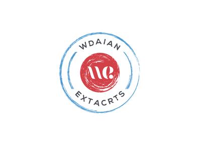 WE logo design Idea
