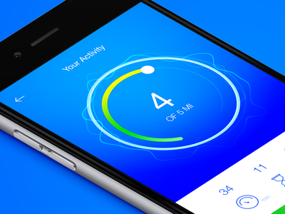 Running Activity Tracker App dailyui workout tracker statistics sport running navigation health graph fitness app activity