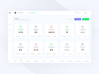 Projects management interface