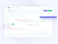 #2 Calendar - projects management