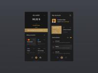 🚕 Taxone - Wallet & Profile 🌛