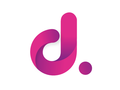 Logotyp Redesign - Dreamify Design brand mark logo design vector gradient branding logo