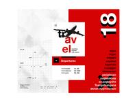 Swiss Art - Flight site UI design