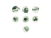 ECO Travel Agency Icons