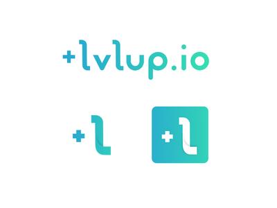 Lvl Up Logo by Dreamify Design brand mark logo design vector gradient startup tech branding logo