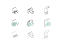 Icons Lineart Style